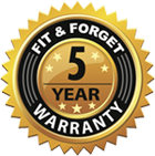 5 Year Warranty - About Us