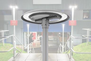 Circular 360° Post Top Car Park Light Product Link