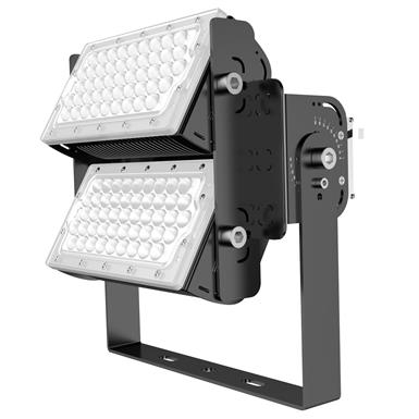 LED High Output 140Lm/W Adjustable Modular Floodlight (75W Per Module)