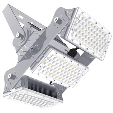 LED High Output 160Lm/W Adjustable Modular Floodlight (60W Per Module)