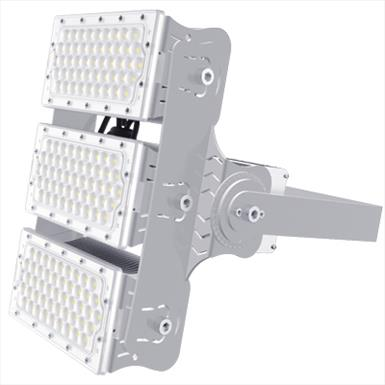 LED High Output 160Lm/W Adjustable Modular Floodlight (100W Per Module)