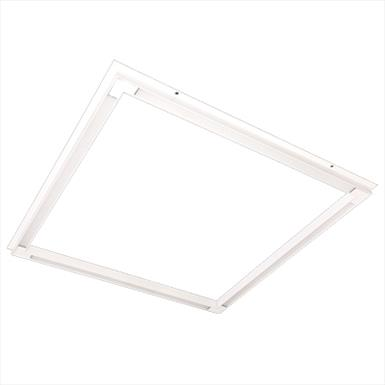 LED Recessed Halo Panel Light