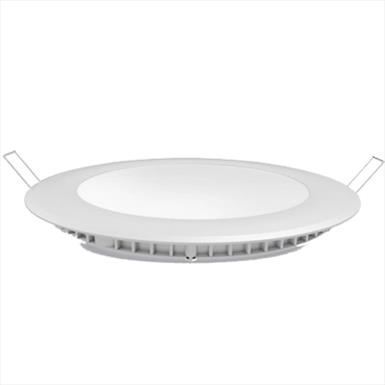 LED Recessed Round Panel Light