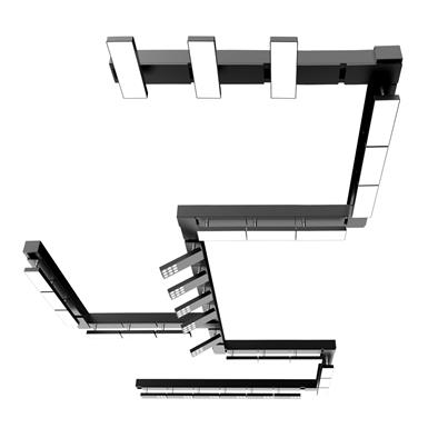 LED Adjustable Modular Track Lighting System