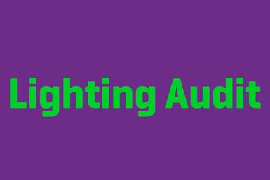 Book Your Lighting Audit